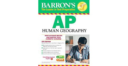 Barron's AP Human Geography (Revised) (Paperback) (Meredith Marsh) - image 1 of 1