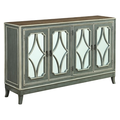 Christopher Knight Home Heatherfield Four Door Media Credenza Gray - image 1 of 4