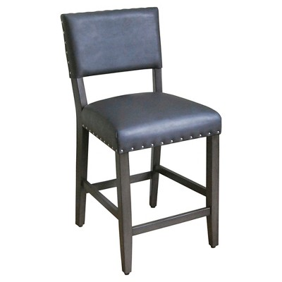 Open Back 24  Counter Stool - Hot Coffee - Threshold™