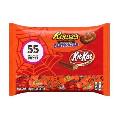 Reese's, Kit Kat Halloween Chocolate Variety Pack - 29.9oz/55ct