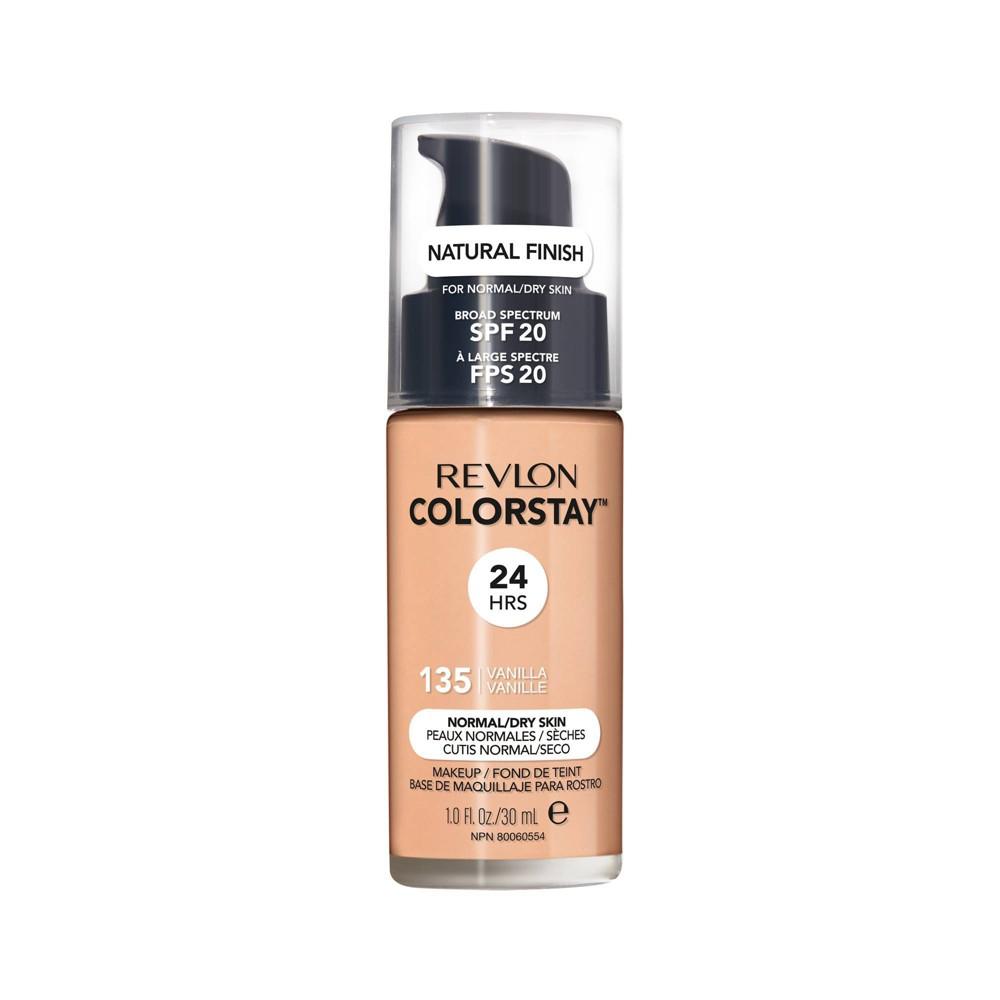 Revlon ColorStay Liquid Makeup Normal/Dry 135 Vanilla - 1.0 fl oz