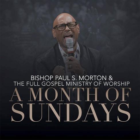 Paul S. Morton - Month Of Sundays (CD) - image 1 of 1