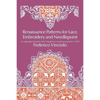 Renaissance Patterns for Lace, Embroidery and Needlepoint - (Dover Pictorial Archives) by  Federico Vinciolo (Paperback)