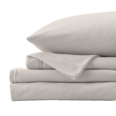 Great Bay Home Christina Solid Fleece Sheet Sets