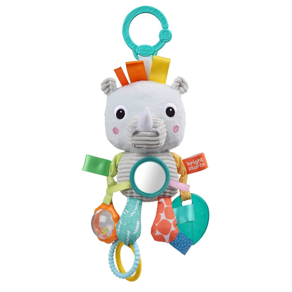 Image of Bright Starts Playful Pals Activity Toy - Rhino