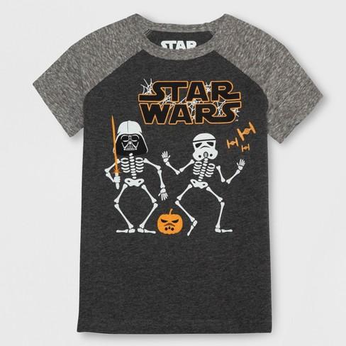 04b3664b2ba Toddler Boys  Star Wars Short Sleeve T-Shirt - Gray   Target