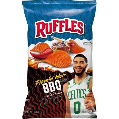 Ruffles Flamin' Hot BBQ - 8.5oz