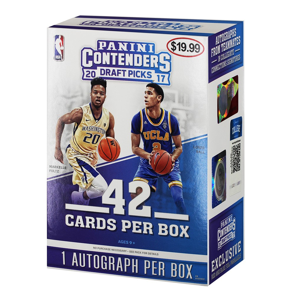2017 NBA Basketball Contenders Draft Pick Trading Cards