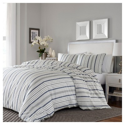 Gray Conrad Duvet Cover Set - Stone Cottage®