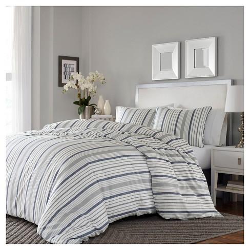 Gray Conrad Duvet Cover Set Stone, Target Gray Bedding Sets