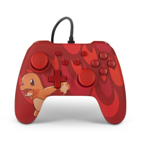PowerA Wired Controller for Nintendo Switch: Pokemon - Red Charmander Blaze - image 1 of 4