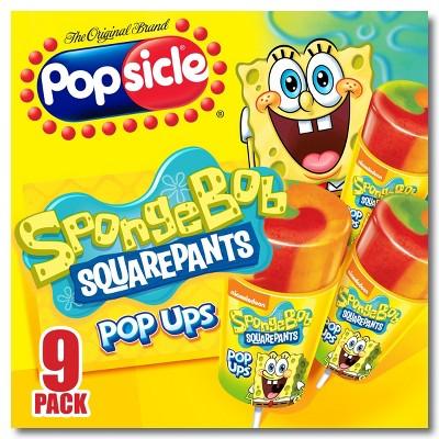 Popsicle SpongeBob SquarePants Frozen Pop Ups - 9pk