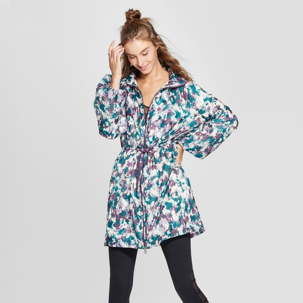 Women's Camo Print Parka with Fleece Lining - JoyLab XS, Green