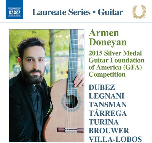 Armen Doneyan - 2015 Silver Medal Guitar Foundation (CD) - image 1 of 1