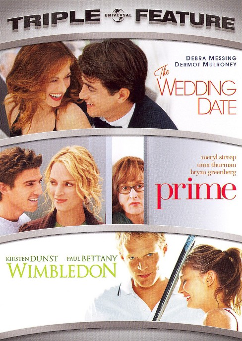 The Wedding Date/Prime/Wimbledon [3 Discs] - image 1 of 1
