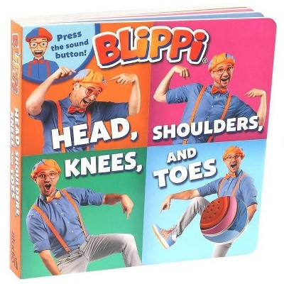 Blippi: Head, Shoulders, Knees, and Toes - (Board Book)