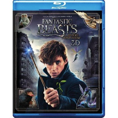 Fantastic Beasts and Where to Find Them (3D) (Blu-ray)