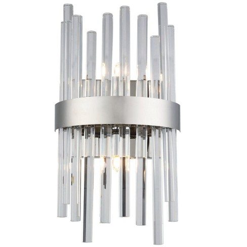 "Elegant Lighting 3000W8 Dallas 2 Light 7-13/16"" Wide Wall Sconce - ADA Compliant - image 1 of 1"