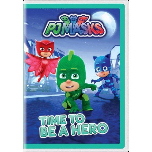 PJ Masks: Time To Be A Hero (DVD) - image 1 of 1