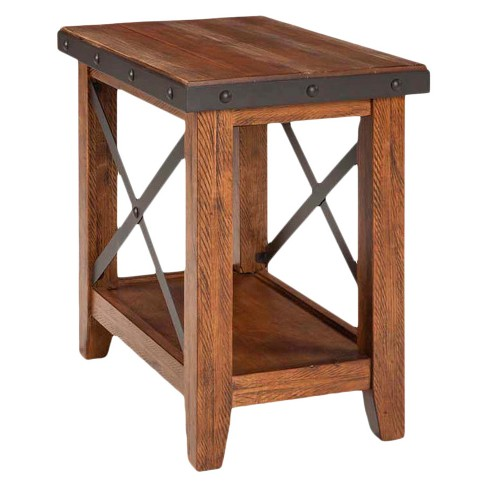 Taos Chairside Table Brown - Intercon - image 1 of 1