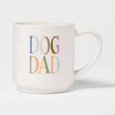 16oz Stoneware Dog Dad Mug - Room Essentials™