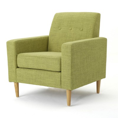 Sawyer Mid Century Modern Club Chair Muted Green - Christopher Knight Home
