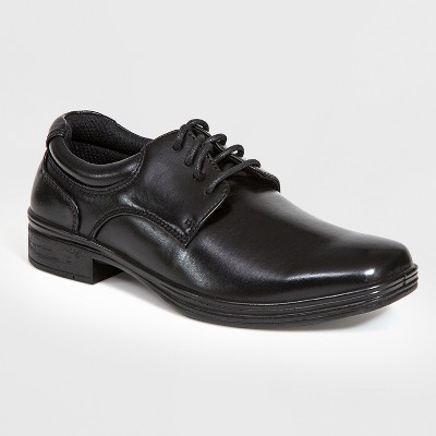3d82508504ae5f Boys  Deer Stags Blazing Plain Toe Oxford Loafers - Black