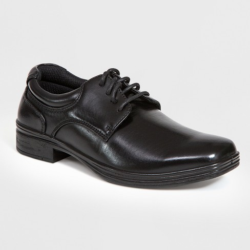 Boys' Deer Stags Blazing Plain Toe Oxford Loafers - Black - image 1 of 4