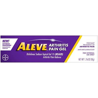 Aleve Diclofenac Sodium Arthritis Pain Gel (NSAID) - 1.76oz