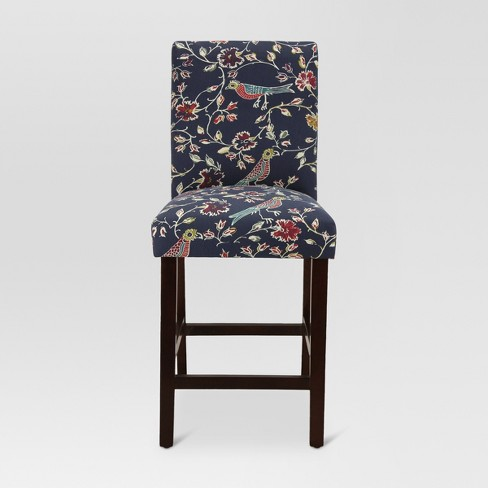 "25.5"" Avington Counter Stool Block Bird Navy - Threshold™ - image 1 of 4"