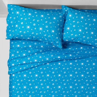 Planetary Play Microfiber Sheet Set Pillowfort By Pillowfort
