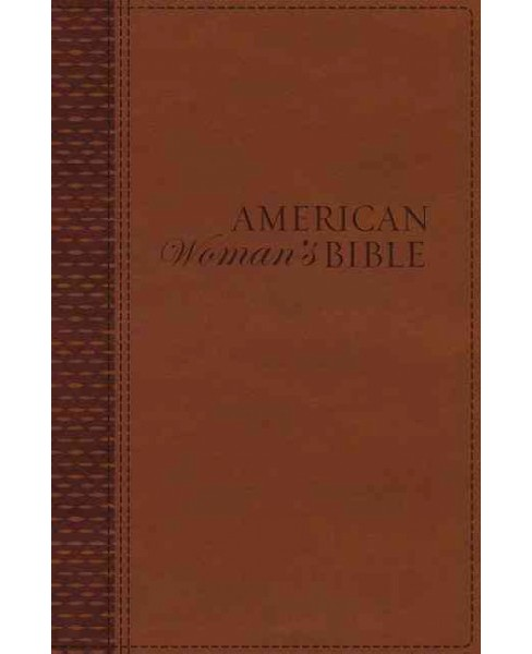 American Woman's Bible : New King James Version, Almond Brown, Leathersoft (Paperback) - image 1 of 1