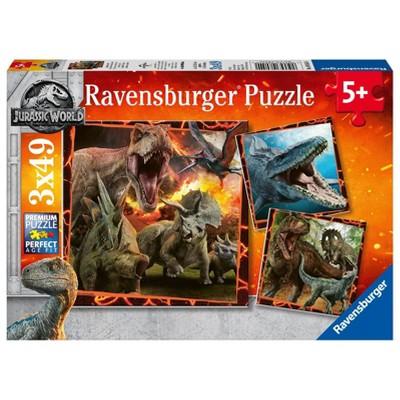 Ravensburger Jurassic Park Puzzle Set - 3pk