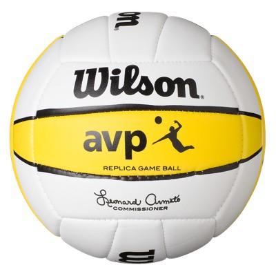 Wilson AVP Replica Beach Game Volleyball Gold