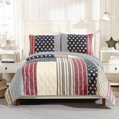 3pc Americana Quilt Set - Modern Heirloom
