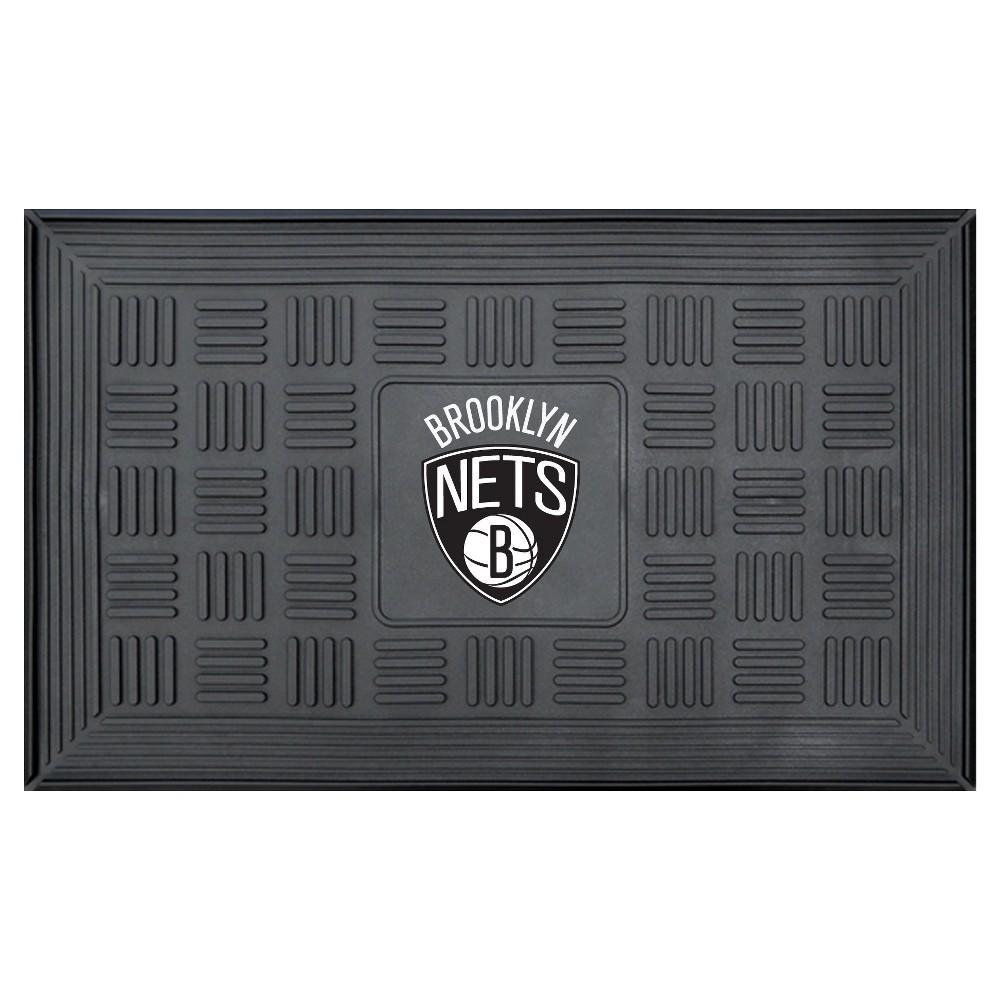 NBA Brooklyn Nets Door Mat 19.5