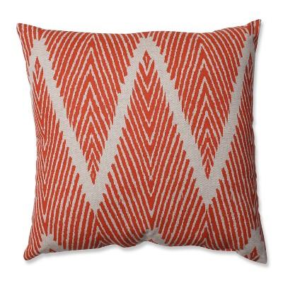 Mandarin Bali Throw Pillow 16.5 x16.5  - Pillow Perfect