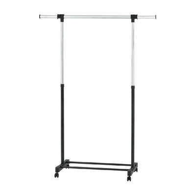 Adjustable Single Rod Garment Rack Black - Room Essentials™