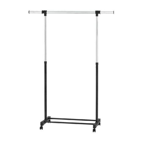 Adjustable Single Rod Garment Rack Black - Room Essentials™ - image 1 of 4