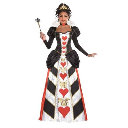 Women's Red Queen Halloween Costume - image 1 of 1