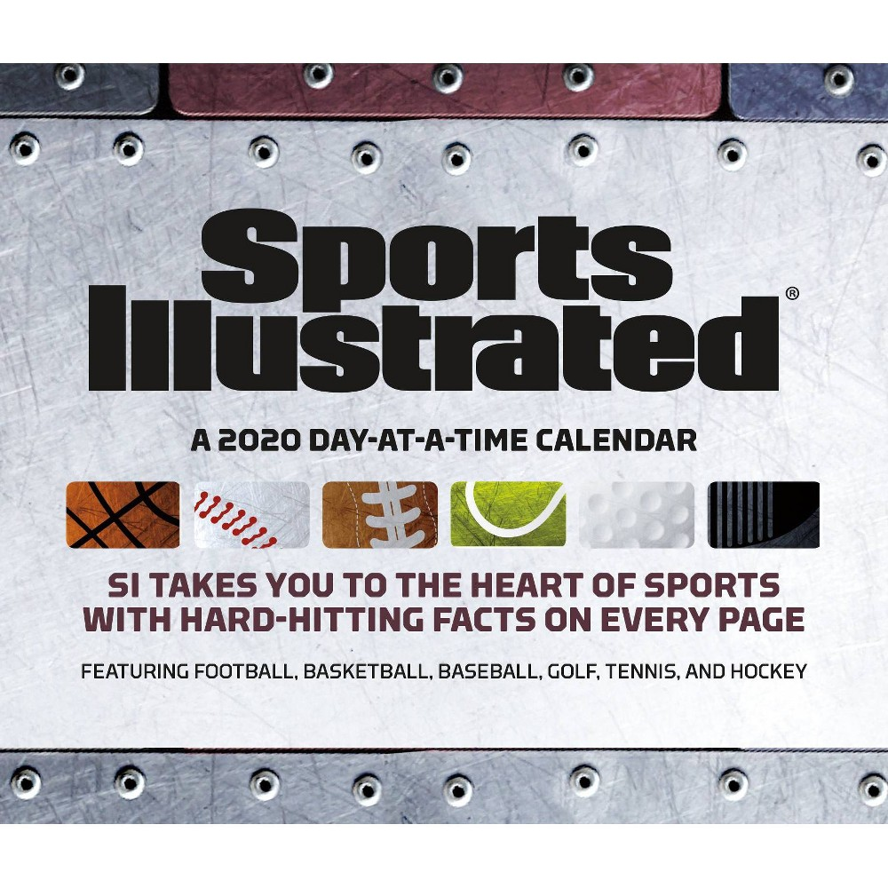 Image of 2020 Calendar Sports Illustrated Sports Daily - Trends International