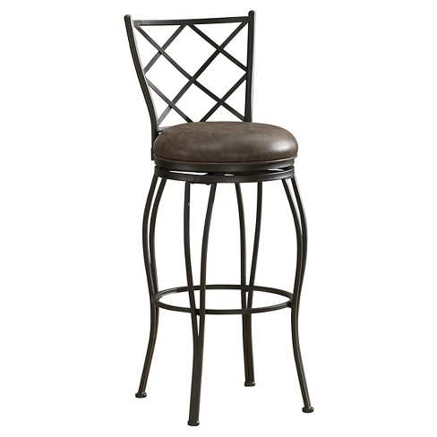 Ava 26 Quot Counter Stool Metal Brown American Heritage