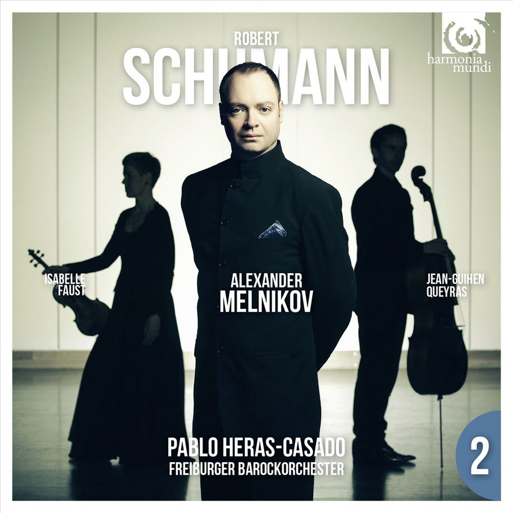 Alexander Melnikov - Schumann:Piano Cto/Piano Trio No 2 (CD)