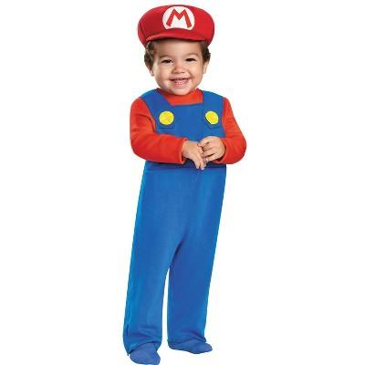 Baby Mario Halloween Costume 12-18M