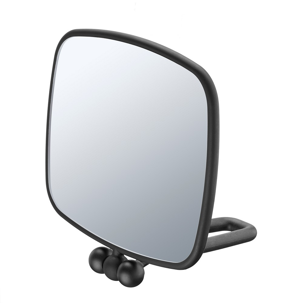 Conair Soft Touch Rectangle Mirror, Black