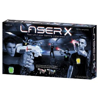 Laser X Two Player Laser Tag Blaster Gaming Set
