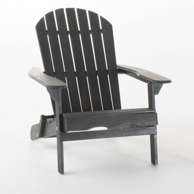 Hanlee Folding Wood Adirondack Chair - Christopher Knight Home