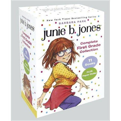 Junie B. Jones Complete First Grade Collection - by  Barbara Park (Mixed Media Product)
