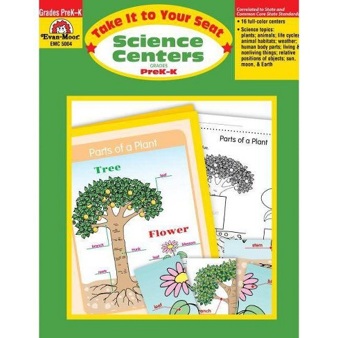 Science Centers Pre-K-K - (Take It to Your Seat) (Paperback) - image 1 of 1