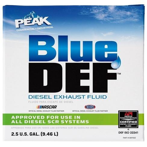 Diesel Exhaust Fluid >> 2 5gal Diesel Exhaust Fluid White Blue Def